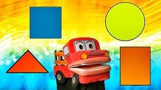 Las Figuras Geometricas - Barney El Camion - Canciones Infantiles Educativas - Video para niños #