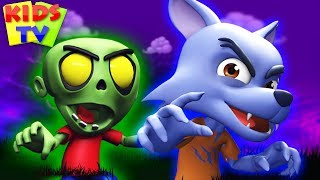 It's Halloween Night | Spooky Scary Rhymes for Kids | Super Supremes Cartoons