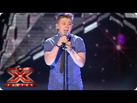 Nicholas McDonald sings True by Spandau Ballet - Live Week 1 - The X Factor 2013