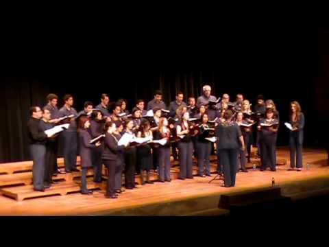 CoralUSP canta Chiquilín de Bachín, de Ástor Piazzolla e Horacio Ferrer