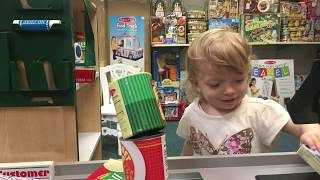 fun with Sophie, indoor pretend play for kids