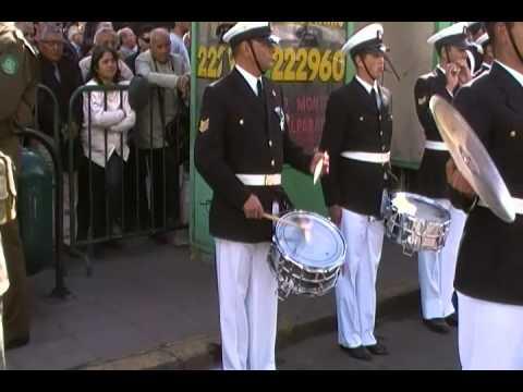 Himno Nacional de Chile, 18 de septiembre de 2012.