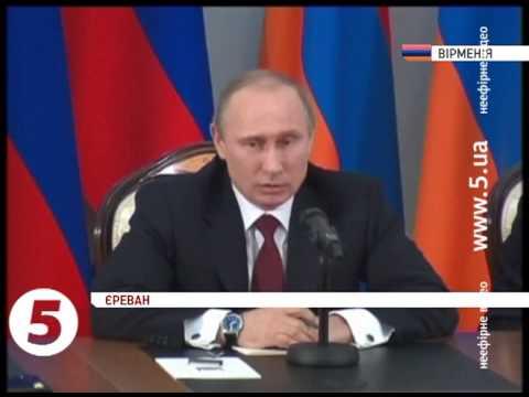 Путін про події в Україні