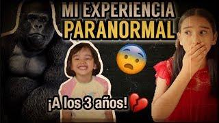 MI EXPERIENCIA PARANORMAL / ¡VI EL ESPÍRITU DE UN GORILA! #STORYTIME