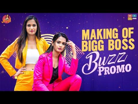 Ariyana Glory shares making visuals of Bigg Boss Buzz promo shoot