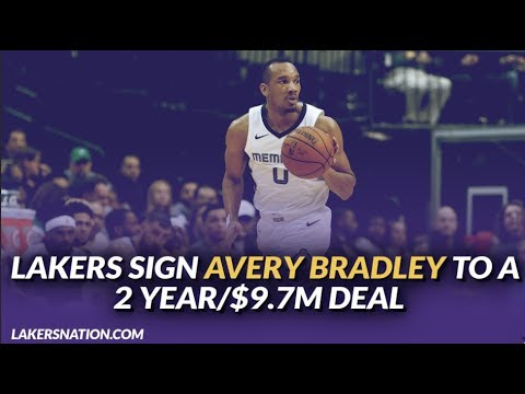 Lakers Free Agency: Lakers Reportedly Sign Avery Bradley to a 2 year/$9.7M Deal