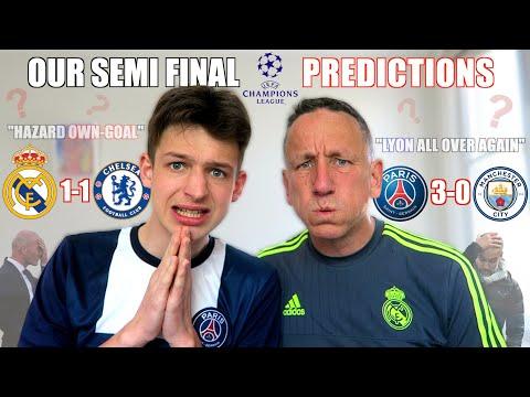 OUR SEMI FINAL CHAMPIONS LEAGUE PREDICTIONS *KICKS OFF*