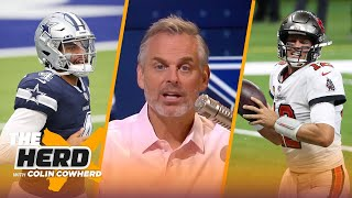 Colin Cowherd reacts to Dallas' Week 1 loss to Rams, talks Tom Brady's Bucs debut | NFL | THE HERD