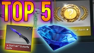 CS:GO - Top 5 Most Expensive Spectrum Knife Unboxing Videos!