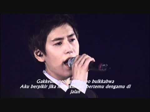 Kyuhyun Super junior  - That I was once by your side [Indo translate]