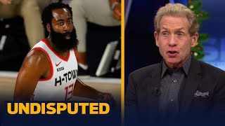 Harden is trying to 'act' his way out of Houston after throwing ball at teammate | NBA | UNDISPUTED