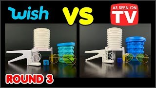 Wish vs As Seen on TV #3: Five Items Compared!