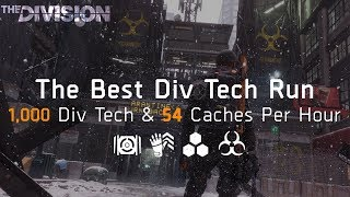 The Division | The PERFECT Div Tech Run - Get 4,000 Div Tech EASILY!