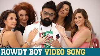 Rowdy Boy song from Roll Rida in support of Vijay Devarako..