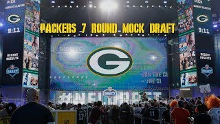 Green Bay Packers 7 Round 2019 NFL Mock Draft