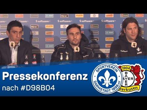 Darmstadt 98 vs Bayer Leverkusen