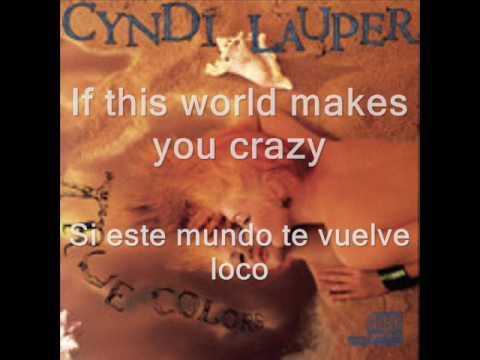 True colors de Cindy Lauper subtitulado
