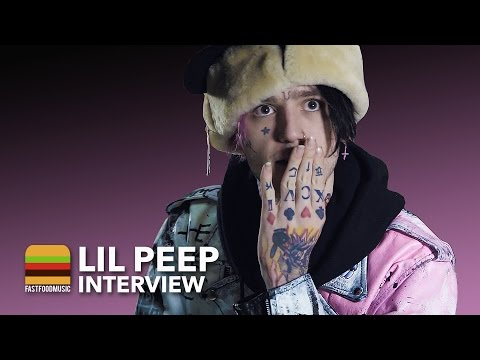 Интервью LiL PEEP для «Fast Food Music» (LiL PEEP Interview)