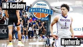 2019 GEICO Nationals: Jeremiah Robinson-Earl and IMG Academy STUN Montverde in the final seconds