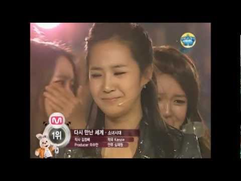 SNSD 1st win [Encore] - Into the New World, Girls' Generation, Kissing You