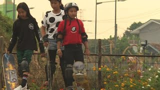 Asian Games: meet Indonesia's youngest skateboarder