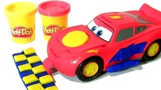 Play Doh Cars 3 Lightning mcQueen Disney Pixar Cars 3 Flash Rayo Saetta Молния Маккуин  카 라이트닝 맥퀸