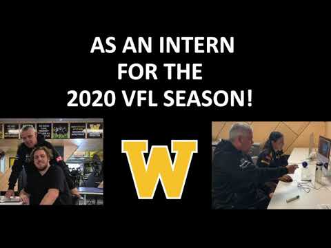 2020 Internships at the Werribee Football Club