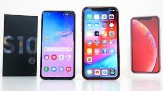 Samsung Galaxy S10e vs iPhone XR Full Comparison!