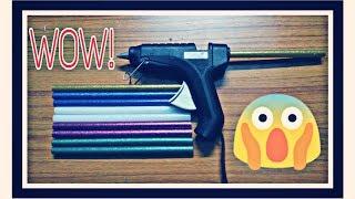 Glue gun's glitter glue stick unboxing