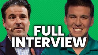 Jeopardy James One-On-One with Darren Rovell: Full Interview  | The Action Network