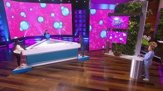 Ellen Employees Test Their Trivia Skills in 'Burst of Knowledge'