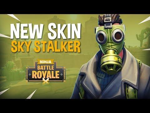 New Skin Sky Stalker!! - Fortnite Battle Royale Gameplay - Ninja & Hysteria