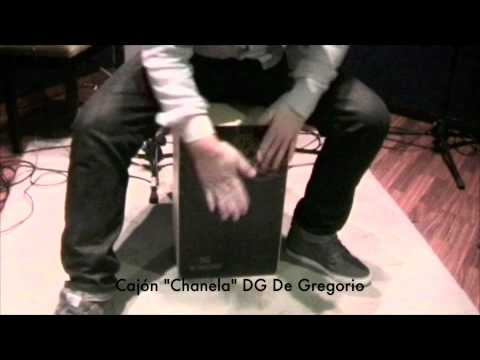 De Gregorio DG De Gregorio Cajon - Chanela - Natural Finish