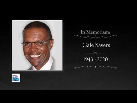 DBL Pays Tribute to NFL Hall of Famer Gale Sayers
