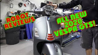All New 2020 Vespa GTS Super Sport 300 with HPE Motor!