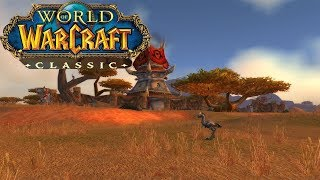 World of Warcraft Classic Demo   Leveling Experience   Testing different characters on HORDE