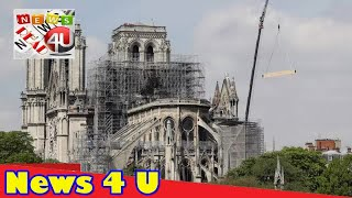 Temporary cathedral plan for Notre-Dame