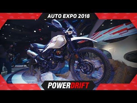 Hero XPulse 200 @ Auto Expo : Return Of The Impulse? : PowerDrift