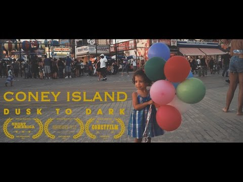 Coney Island | Dusk to Dark [8K]