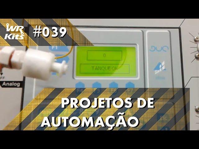 SENSOR DE TANQUE COM CLP ALTUS DUO | Projetos de Automação #039