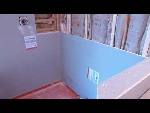 How To Install And Waterproof Shower Tile Backer Board
