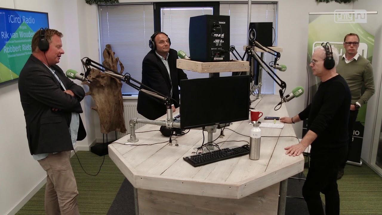 Wethouder Rik van Woudenberg in iCircl Radio
