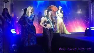 Hoa hậu Hà Thu dành huy chương vàng phần thi áo tắm tại Hoa hậu Trái đất 2017