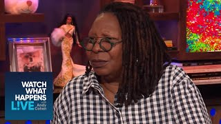 Whoopi Goldberg Reacts to 'The View' Tell-All 'Ladies Who Punch' | WWHL