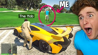 The MOB Stole My $10,000,000 Supercar In GTA 5.. (Mods)