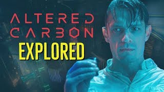 ALTERED CARBON (2018) Cortical Stacks + Sleeves EXPLORED