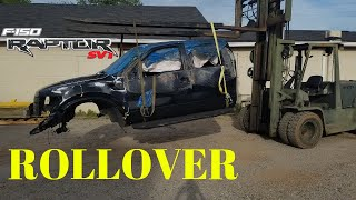 Rebuilding a Wrecked 2011 Ford Raptor SVT bought from Copart Part 7