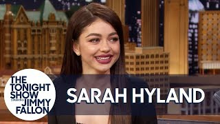"Jimmy Gushes over Sarah Hyland's ""Bachelor"" Boyfriend Wells Adams"
