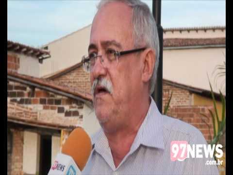 Entrevista com o prefeito de Aracatu
