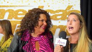 America's Got Talent: Comedian Vicki Barbolak On Her ICONIC Pink Outfit! | AGT 2018